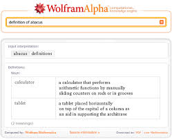 Define on Wolfram Alpha
