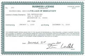 Business License and its Requirements