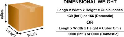 Dimensional Weight