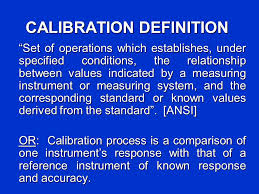 Definition of Calibration