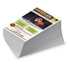 Flyer Printing Process