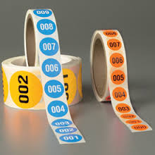 Printing Numbered Labels