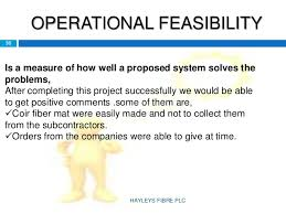 Operational Feasibility