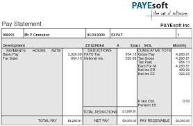 Payslip Definition
