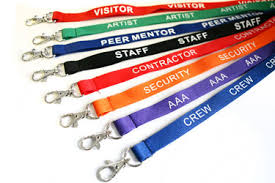 Printed Lanyards for Build Brand Recognition