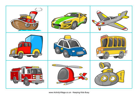 Growth of Different Modes of Transport