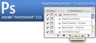 Make a Photoshop Action