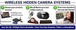 Wireless Hidden Cameras
