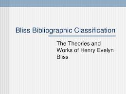 Bibliographic Classification