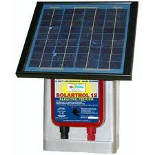 Solar Electric Fence Energizer