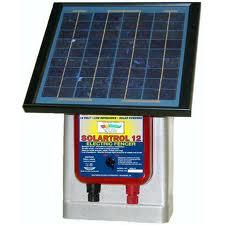 Solar Electric Fence Energizer