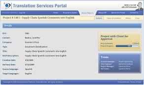 Language Translation Portal