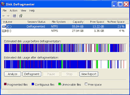 About Disk Defragmenter