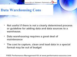 Choosing the Right Data Warehouse