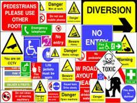 About Health and Safety Signs