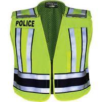 Police Traffic Safety Vests