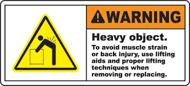 Proper Warning Labels