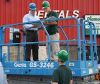 Aerial Boom Lift for Safety