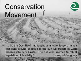 Early Conservation Movement