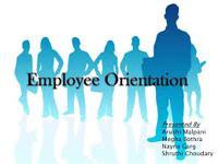 Employee Orientations