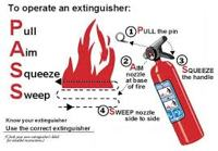 Fire Extinguisher Instructions