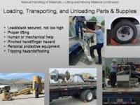 Precautions of Material Handling