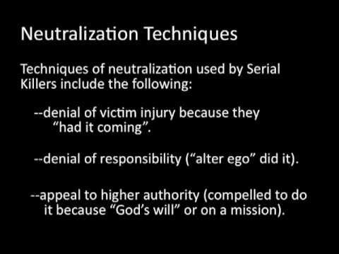 Techniques of Neutralization Theory