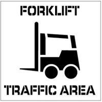 Traffic Stencils for Safety