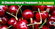 Natural Treatments for Insomnia