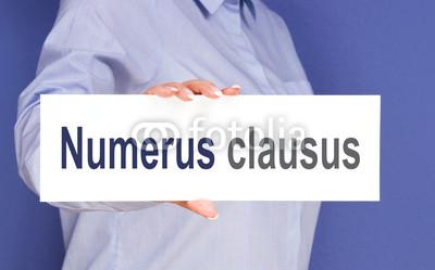 Numerus Clausus