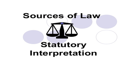 Statutory interpretation essay