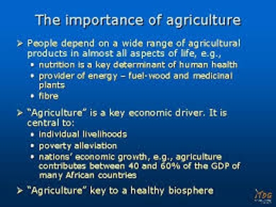 Agriculture business related research paper topics