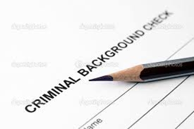 Criminal Background Investigation