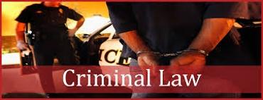 Criminal Law Information