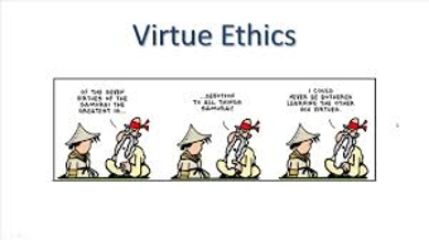 Virtue ethics essay