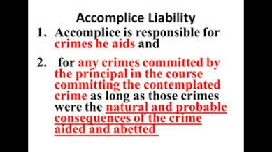 Accomplice Liability