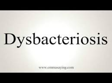 Colonic Dysbacteriosis