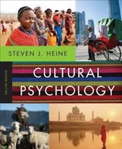 About Cultural Psychology
