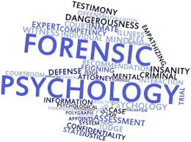 Forensic Psychology com term