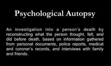 autopsy research paper Sudden infant death syndrome (sids) refers the underlying cause of sids is a mystery although research has identified a number this paper discusses.