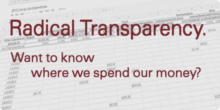 Radical Transparency