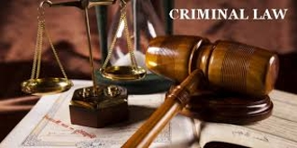 Overview of the Criminal Law