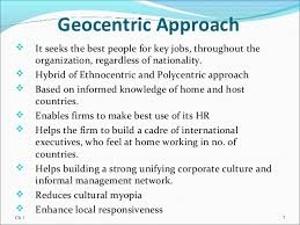 Geocentric Approach
