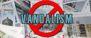 Define on Vandalism