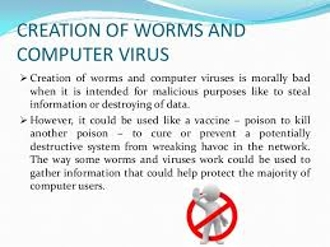 Computer Virus Creation