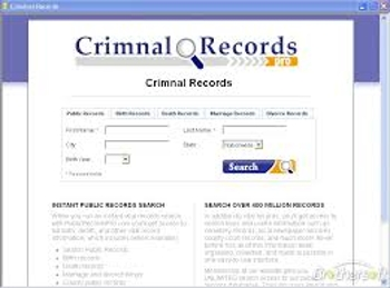 Criminal Record Check