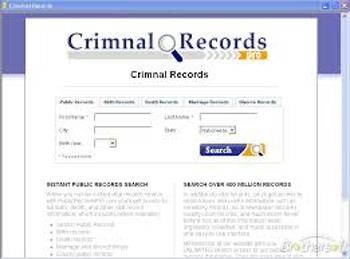 Criminal Record Check