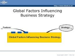 Factors Influencing Businesses