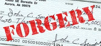 Forgery in Law terms