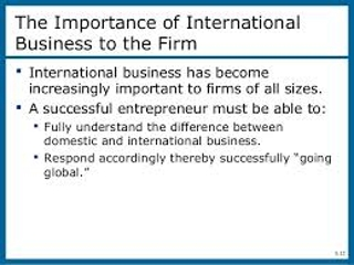 international business assignment